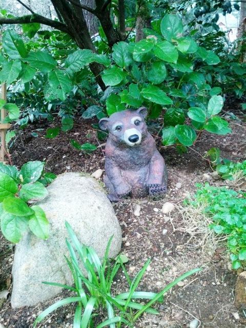 Yard art bear