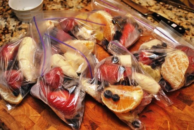 Homemade smoothie packs