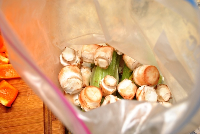 saving mushroom stems for stock
