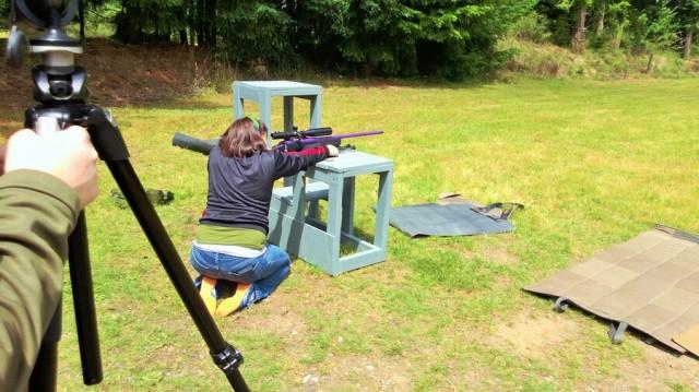 shooting kneeling
