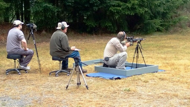 shooting from a tripod