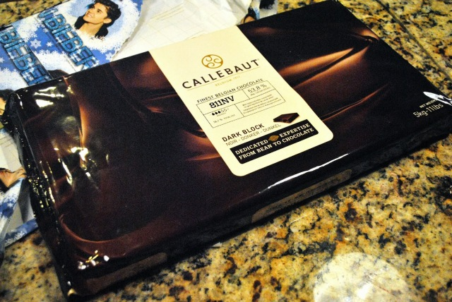 11lb block of callebaut chocolate