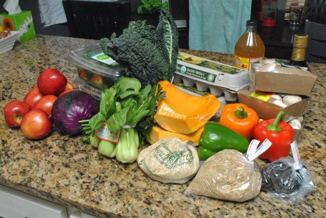almost vegan food haul