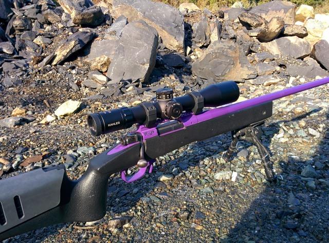 FN SPR w/ Kahles 3-12 MSR-K Scope