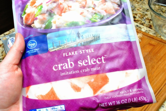 fake crab