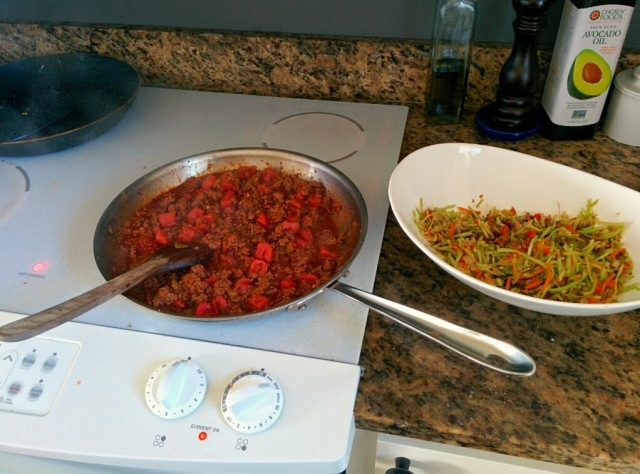 beef & broccoli burrito bowl