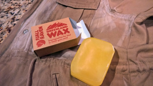 diy waxed cotton canvas jacket