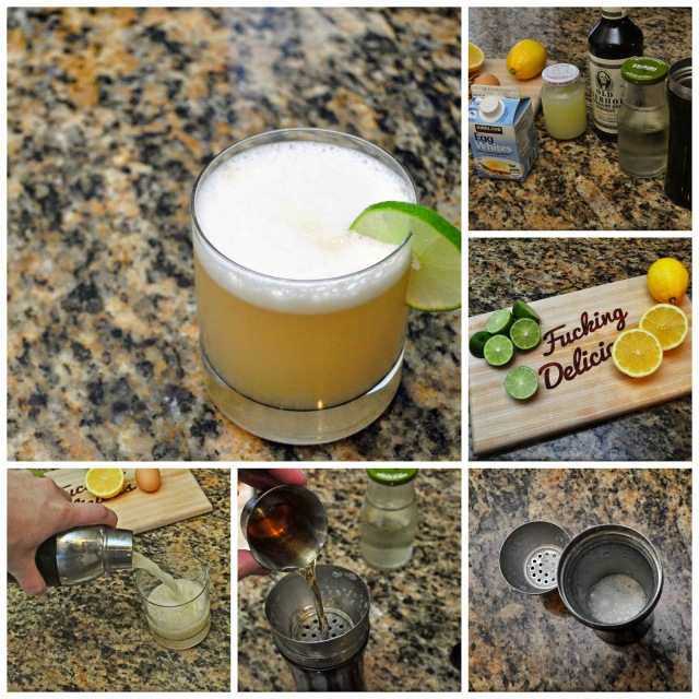 whiskey sour cocktail